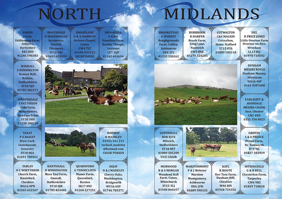 North Midlands Breeders Association advert