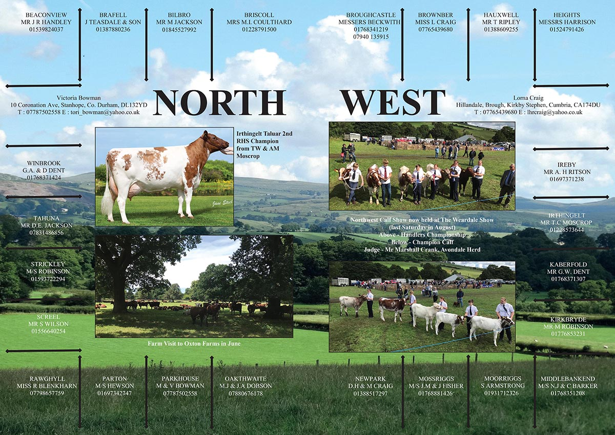 North West Breeders Association advert